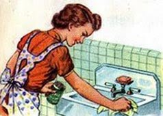 vintage+housewife-sink