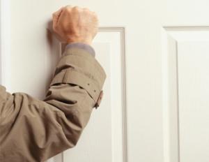 Knocking on door 01