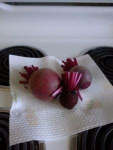Home grown Beetroot!