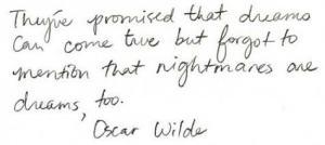 oscar dreams
